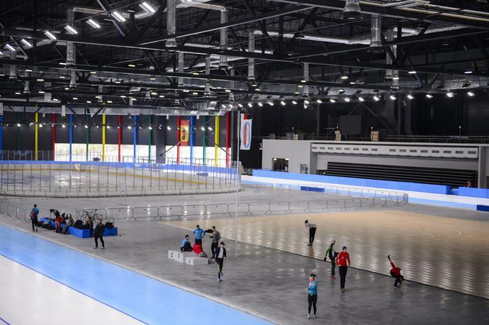 Budowa krytego toru do łyżwiarstwa szybkiego w Tomaszowie Mazowieckim pochłonęła ponad 47 mln zł.