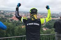 Z Suwałk do Olsztyna na mecz... rowerem! Niezwykła podróż fana Wigier