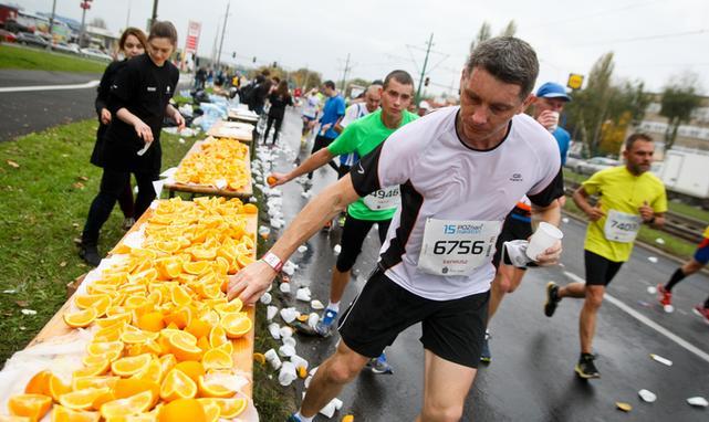 Odżywianie jest istotnym elementem maratonu