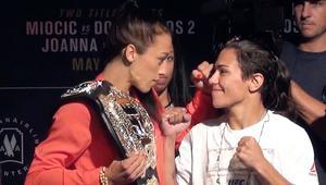UFC 211: Jędrzejczyk i Andrade twarzą w twarz!
