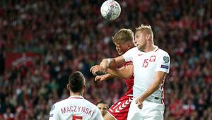 Pilka nozna. Eliminacje do MS 2018. Dania - Polska. 01.09.2017