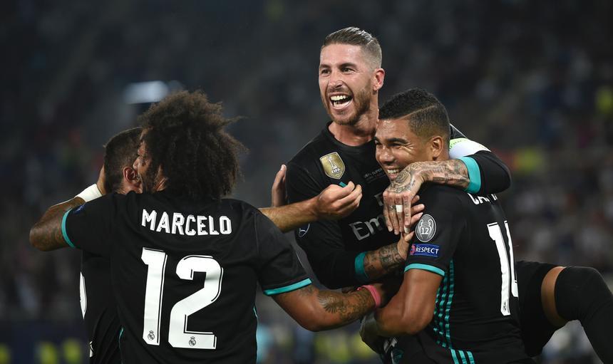 Casemiro Real Madrid v Manchester United