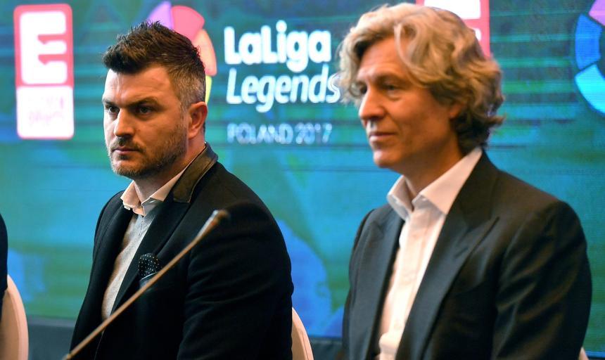 Fernando Sanz, Michał Żewłakow, Dariusz Mioduski
