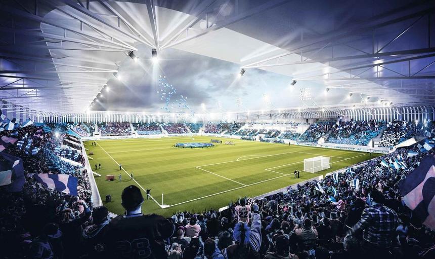 nowy stadion Ruchu
