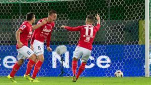 Pilka nozna. Nice I liga. Zaglebie Sosnowiec - GKS Katowice. 13.09.2017