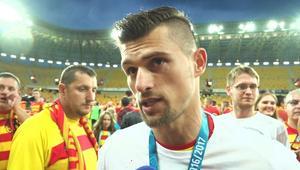 Tomasik: Nie chcę rozmawiać o arbitrach, zabrali nam sporo punktów