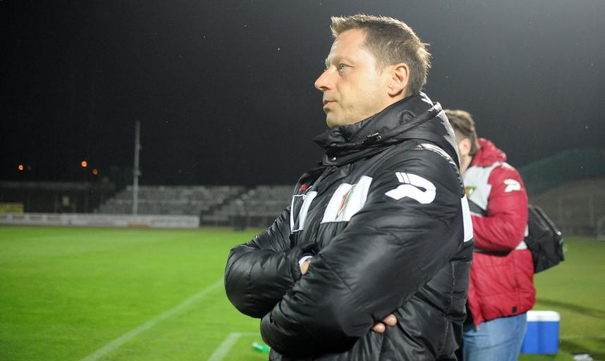 Trener Zagłębia Dariusz Banasik
