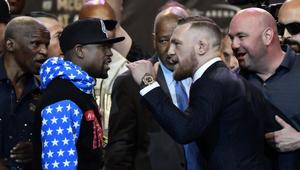 Floyd Mayweather Jr. v Conor McGregor World Press Tour - Los Angeles