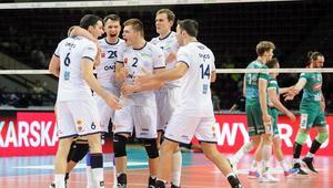 Antoine Brizard, Wojciech Wlodarczyk, Bartosz Kwolek, Nikola Gorgiev radosc