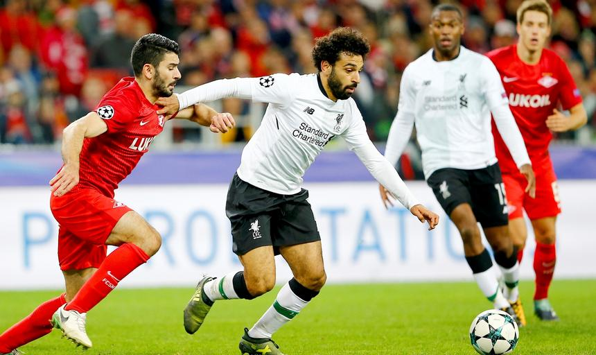 Spartak Moscow vs Liverpoll FC : UEFA Champions League