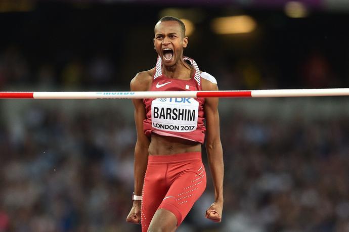 Barshim niezwykle emocjonalnie podchodzi do swoich skoków. Zgrywa pewnego siebie, ale prywatnie - uśmiecha się Szczyrba - to