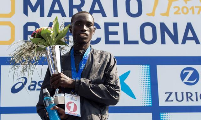 Jonah Kipkemoi Chesum Barcelona maraton