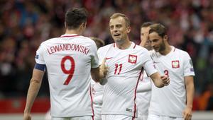 08.10.2017 POLSKA - CZARNOGORA ELIMINACJE MISTRZOSTW SWIATA FIFA 2018 PILKA NOZNA