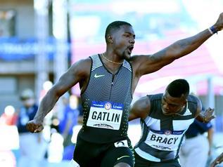 Gatlin wygrał na... jeziorze w Rio