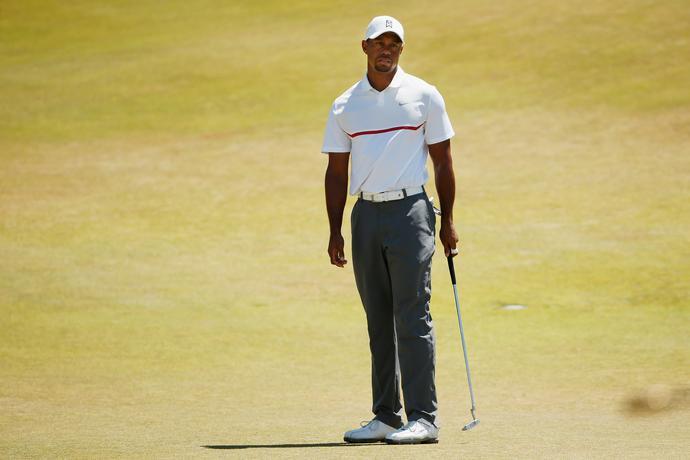 Tiger Woods – ta mina mówi sama za siebie: kompletna katastrofa.