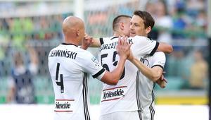 Pilka nozna. Ekstraklasa. Legia Warszawa - Sandecja Nowy Sacz. 29.07.2017