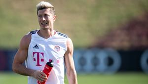 Training camp FC Bayern Munich