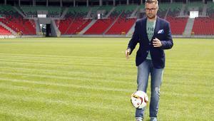 Pilka nozna. I liga. GKS Tychy. Grzegorz Bednarski. 14.07.2017