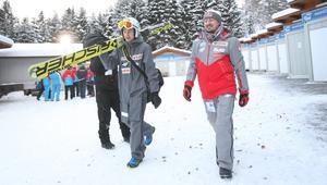 Adam Małysz i Kamil Stoch
