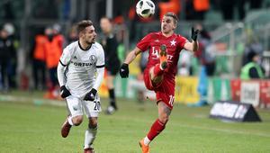 Pilka nozna. Ekstraklasa. Legia Warszawa - Wisla Krakow. 18.03.2018