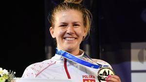 Ewa Nelip z medalem