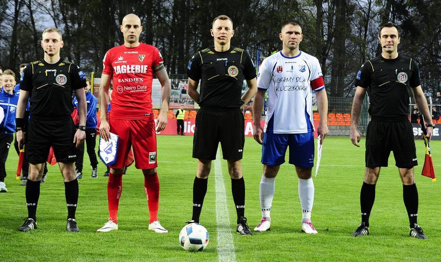 Michał Fidziukiewicz Łukasz Ganowicz MKS Kluczbork Zagłebie Sosnowiec
