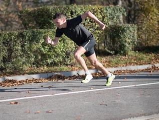 Artur Kozłowski gotowy do ataku w Orlen Warsaw Marathonie