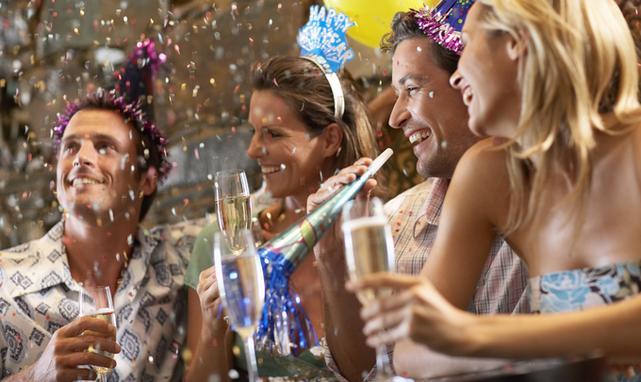 Zwykle Sylwester wiąże się ze spożywaniem alkoholu