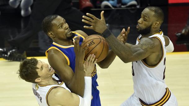 Cleveland Cavaliers Golden State Warriors finał NBA 2017