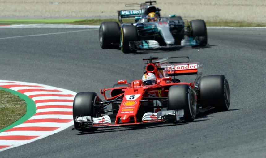 Hamilton Vettel