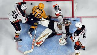 NHL: Stanley Cup Playoffs-Anaheim Ducks at Nashville Predators