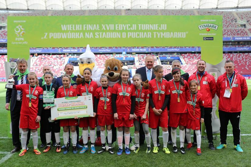 Triumfatorzy z Podwórka na Stadion o Puchar Tymbarku 2017