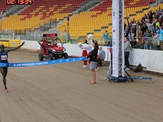 Rekord trasy wrocławskiego maratonu był na wyciągnięcie ręki