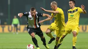 Pilka nozna. Nice I liga. GKS Katowice - Chrobry Glogow. 22.09.2017