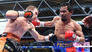 Pacquiao - Horn boxing match