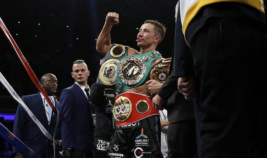 Boxing: Golovkin vs Jacobs