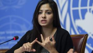 Syrian refugee and Olympic athlete Yusra Mardini is UNHCRs Goodwill Ambassador
