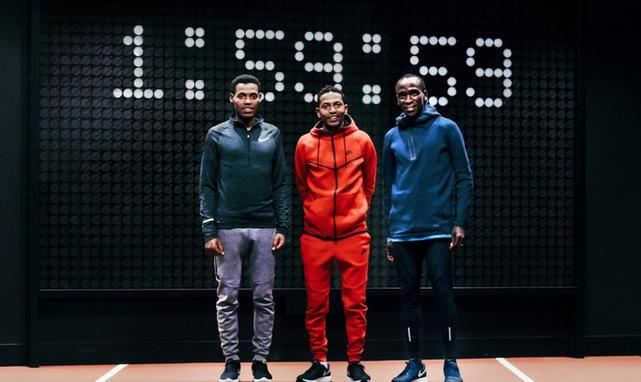 Breaking2, Nike, Eliud Kipchoge, Lelisa Desisa, Zersenay Tadese