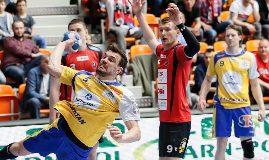 Pilka reczna. PGNiG Superliga. MMTS Kwidzyn - Vive Tauron Kielce. 13.05.2017
