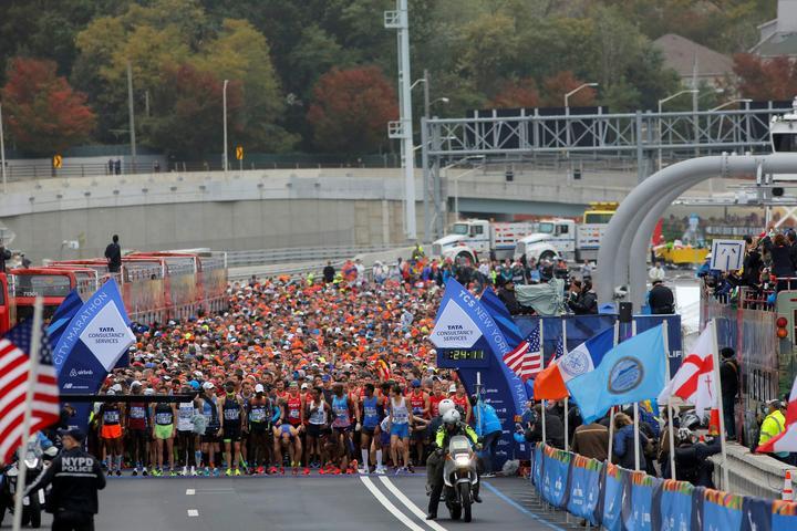 Athletics - New York City Marathon
