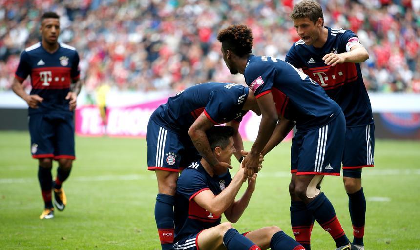 Telekom Cup FC Bayern Muenchen vs TSG 1899 Hoffenheim