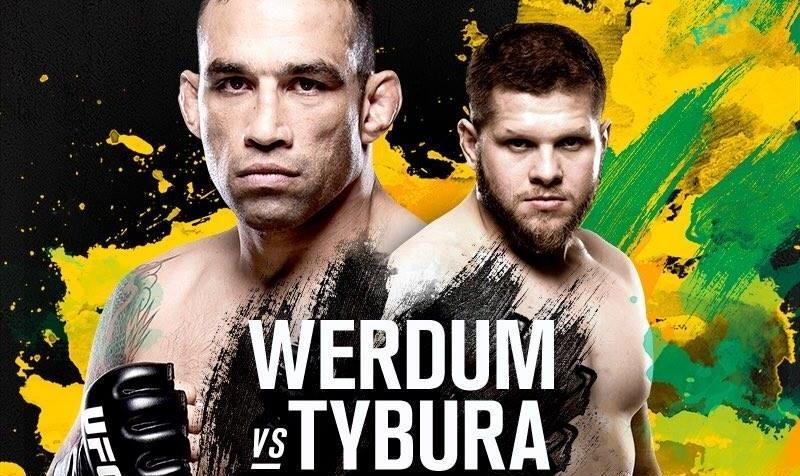 Werdum – Tybura UFC