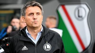 Trener Legii Warszawa Romeo Jozak