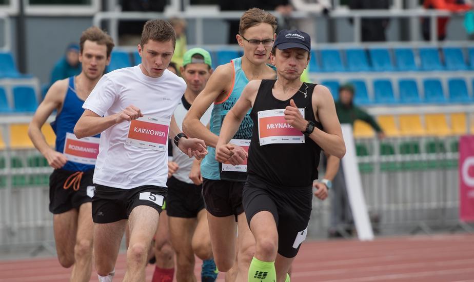 Otwarte Mistrzostwa Polski na mile. Lekkoatletyka. Warszawa 2017.10.07