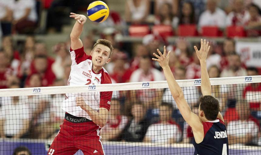 Polska - USA, siatkówka, liga swiatowa