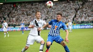 Pilka nozna. Ekstraklasa. Legia Warszawa - Lech Poznan. 17.05.2017