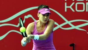 Agnieszka Radwanska eliminates Zhang Ling from Prudential Hong Kong Tennis Open 2017
