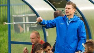 Łukasz Piszczek na meczu ŁKS Goczałkowice Zdrój