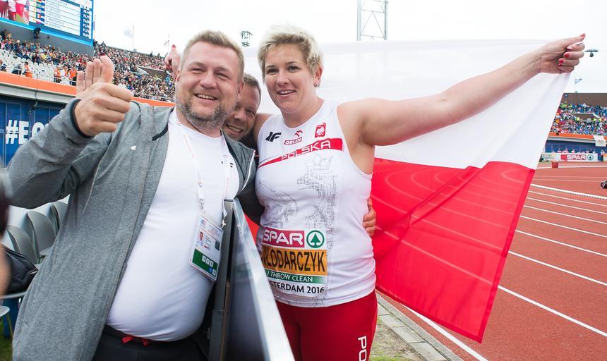 Anita Włodarczyk Krzysztof Kaliszewski