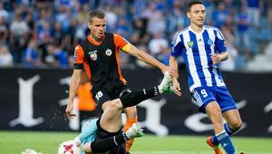 Pilka nozna. Puchar Polski. Ruch Chorzow - Chrobry Glogow. 08.08.2017
